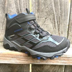 Merrell Moab boys hiking boots waterproof black